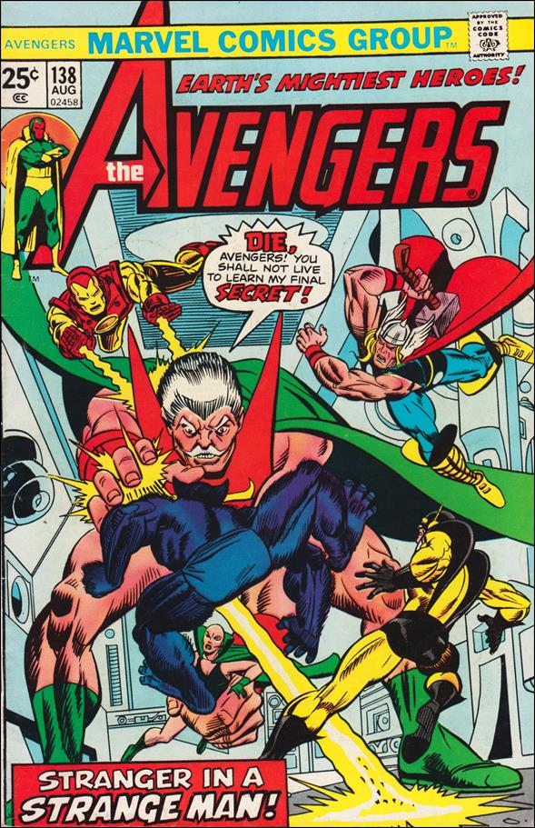 Avengers (1963) 138-A by Marvel