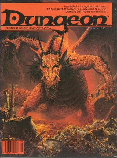 Dungeon 1-A by Paizo Publishing
