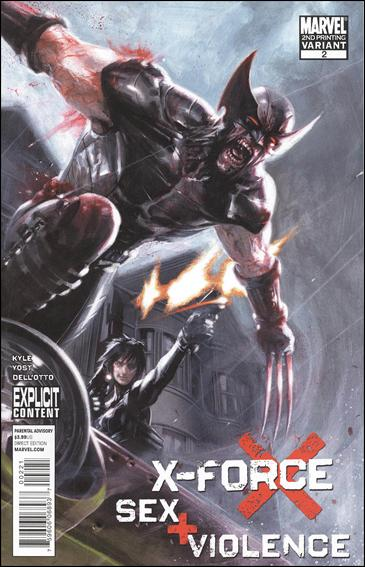 X-Force: Sex and Violence 2-B by Marvel