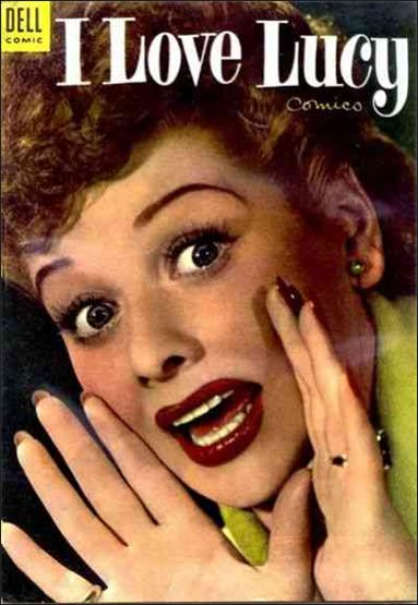 I Love Lucy Comics 3-A by Dell