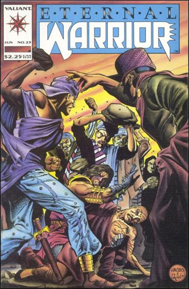 Eternal Warrior (1992) 23-A by Valiant