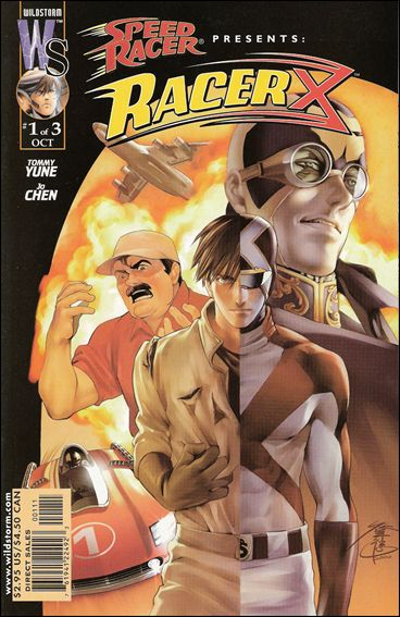 Racer X (2000) 1-B by WildStorm