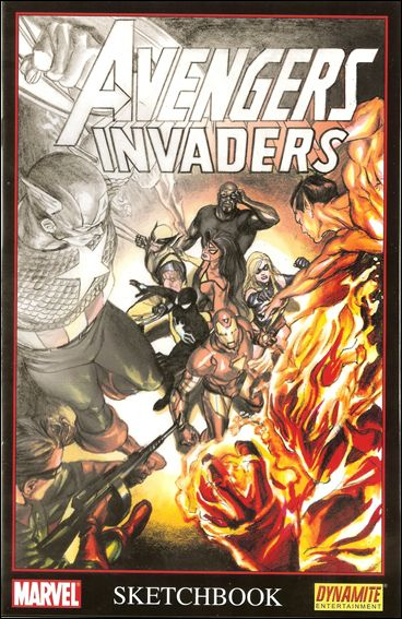 Avengers/Invaders Sketchbook nn-A by Marvel