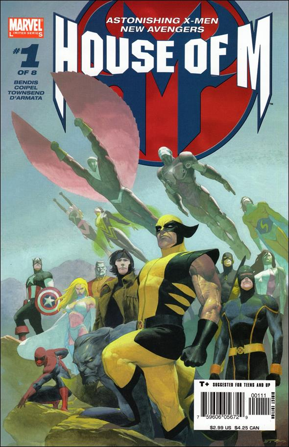 House of M 1-A by Marvel