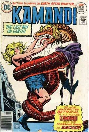 Kamandi, the Last Boy on Earth 48-A