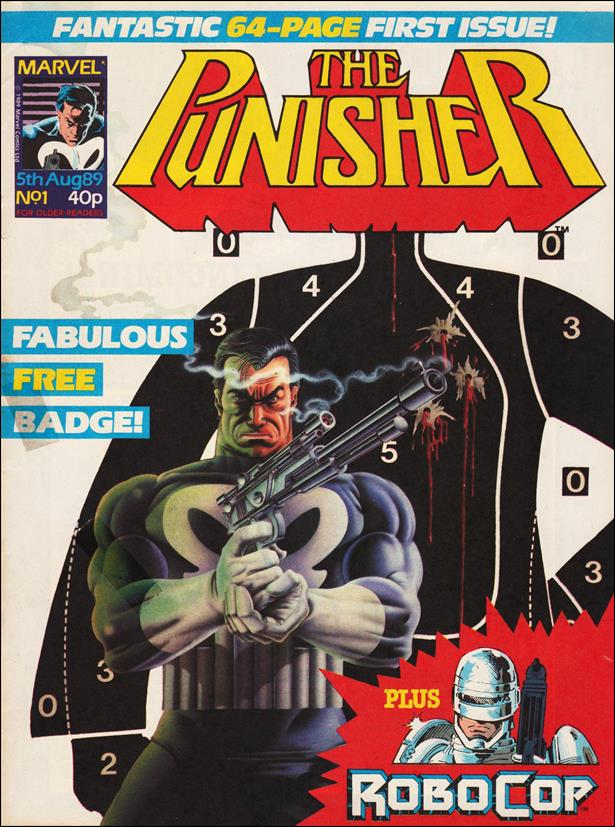 Punisher (UK) 1-A by Marvel UK