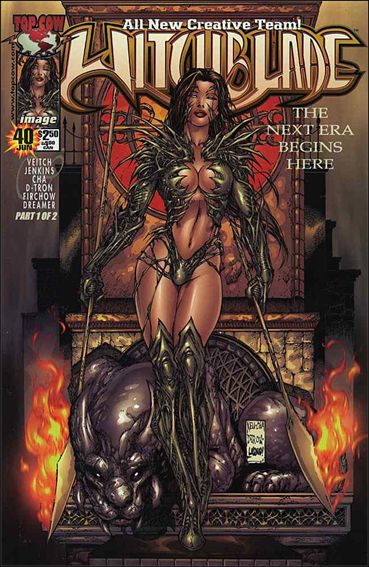 Witchblade 40-A by Top Cow