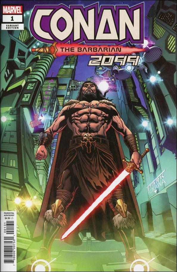Conan 2099 1-C by Marvel