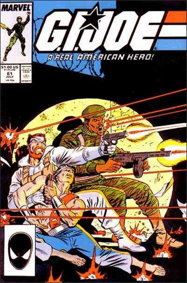 G.I. Joe: A Real American Hero 61-A by IDW