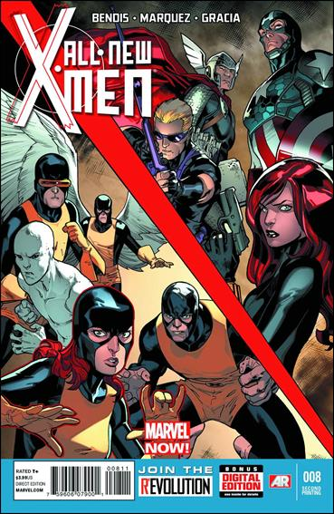 All-New X-Men 8-C by Marvel