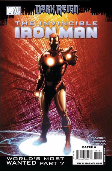 Invincible Iron Man (2008) 14-A by Marvel