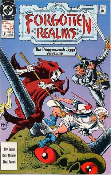 Forgotten Realms 8-A by DC