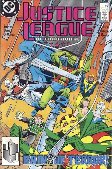 Justice League International (1987) 14-A by DC