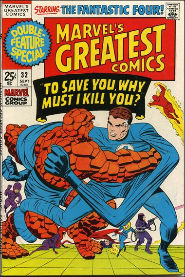 Marvel's Greatest Comics 32-A by Marvel