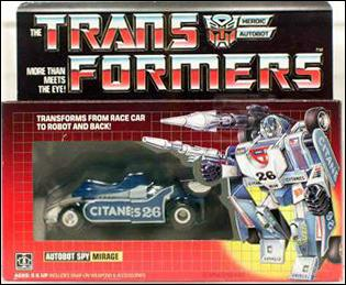 Transformers: More Than Meets the Eye (Generation 1) Mirage (Autobot Spy) by Hasbro