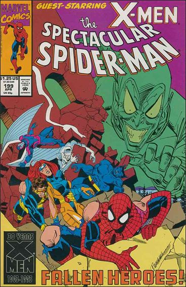 Spectacular Spider-Man (1976) 199-A by Marvel