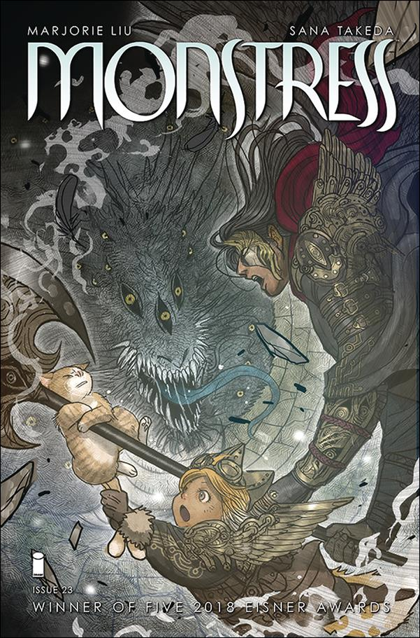 Monstress 23-A by Image