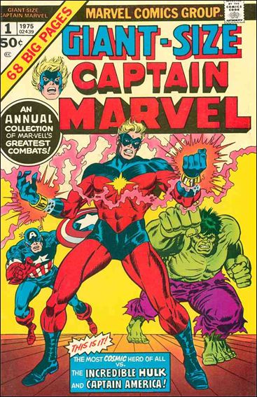Giant-Size Captain Marvel 1-A by Marvel