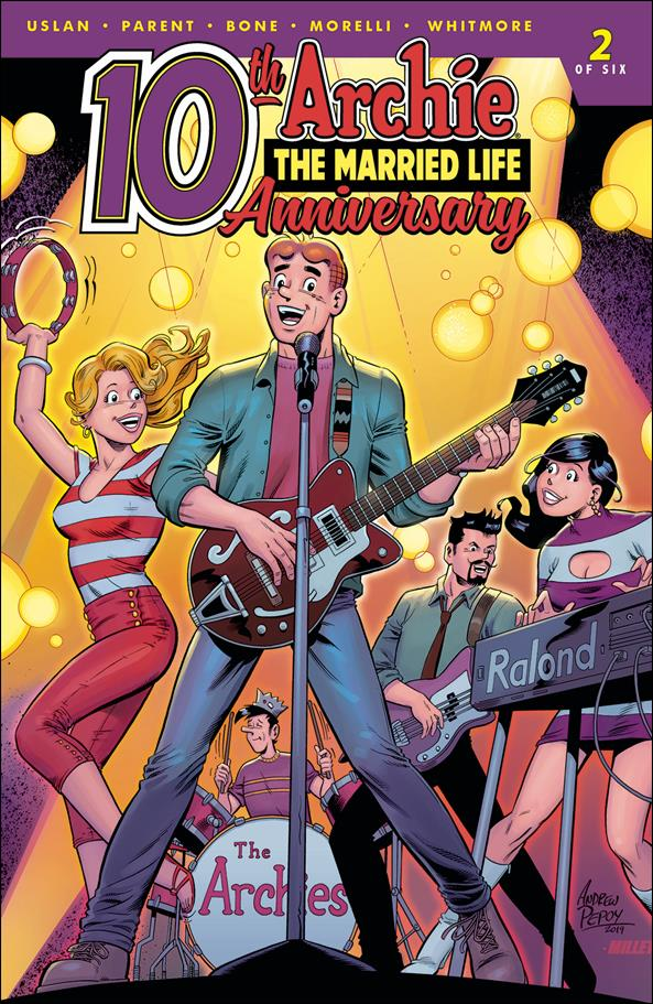 Archie: The Married Life 10th Anniversary 2-C by Archie