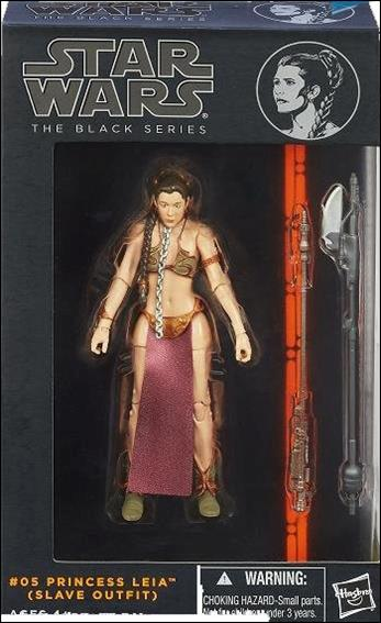 Star Wars: The Black Series (Series 1) Princess Leia (Slave Outfit) by Hasbro