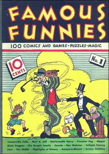 Famous Funnies (1934/07) 1-A by Famous Funnies
