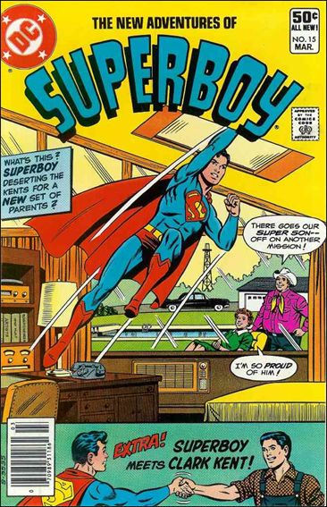 New Adventures of Superboy 15-A by DC