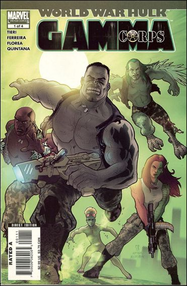 World War Hulk: Gamma Corps 1-A by Marvel