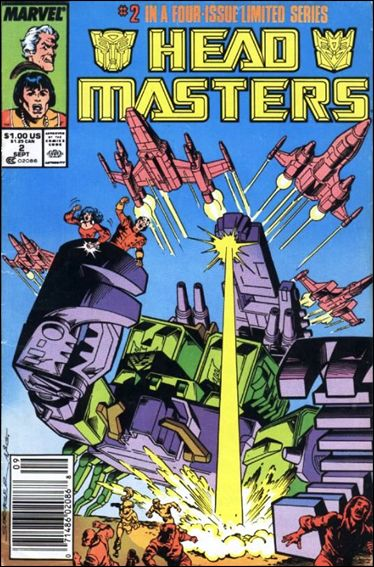 Transformers: Headmasters 2-A by Marvel