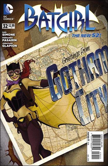 Batgirl (2011) 32-B by DC