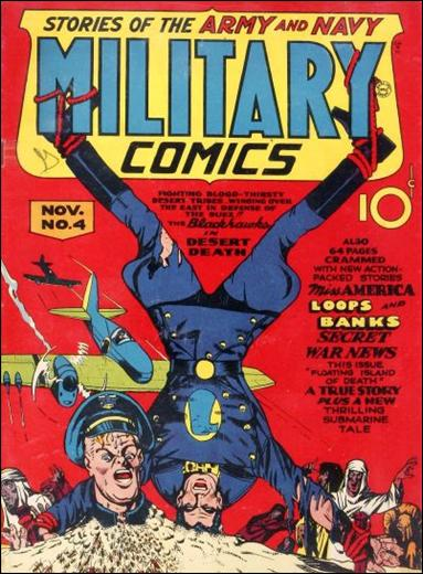 Military Comics 4-A by Comic Magazines