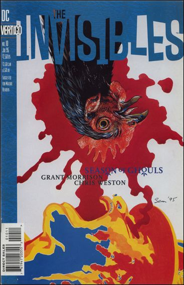 Invisibles (1994) 10-A by Vertigo