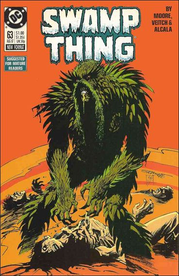 Swamp Thing (1986) 63-A by Vertigo