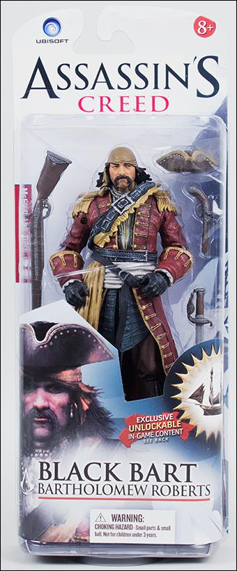 Assassin's Creed IV Black Flag  Black Bart (Bartholomew Roberts) by McFarlane Toys