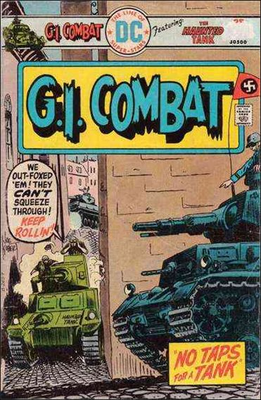 G.I. Combat (1952) 185-A by DC