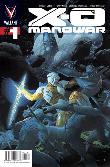 X-O Manowar (2012)  1-A by Valiant Entertainment