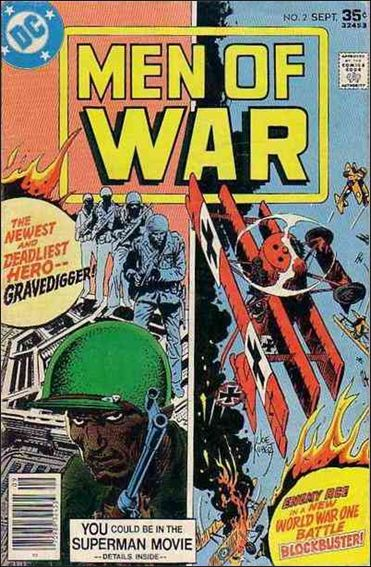 Men of War (1977) 2-A by DC