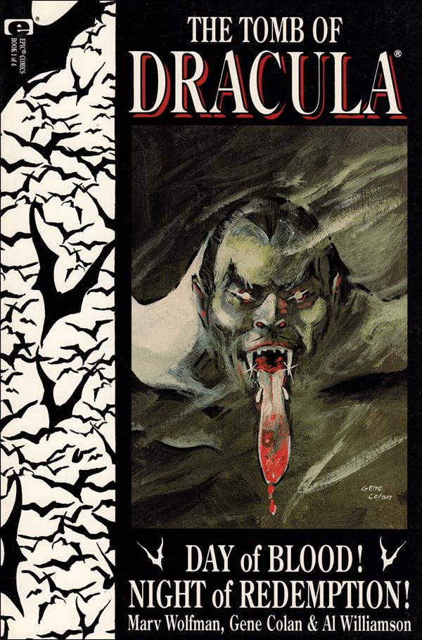 Tomb of Dracula (1991) 1-A by Epic
