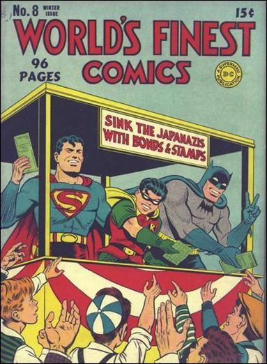 World's Finest Comics 8-A by DC