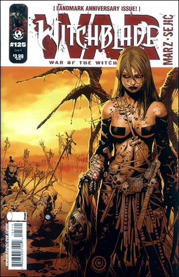 Witchblade 125-A by Top Cow