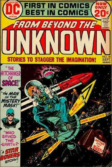 From Beyond the Unknown 18-A by DC
