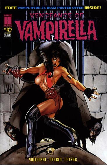 Vengeance of Vampirella 10-A by Harris