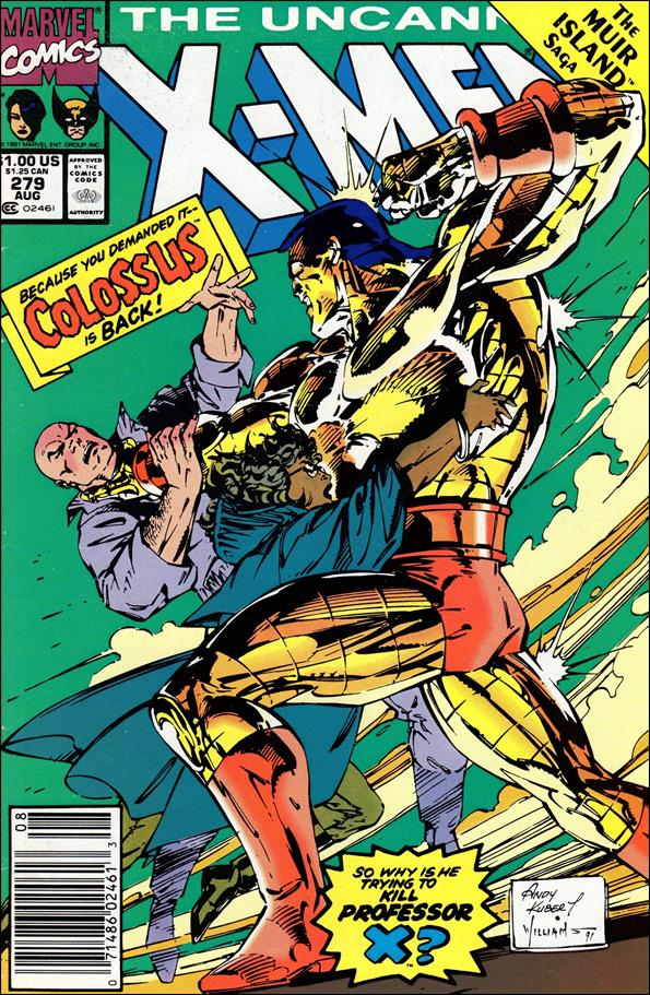 Uncanny X-Men (1981) 279-A by Marvel