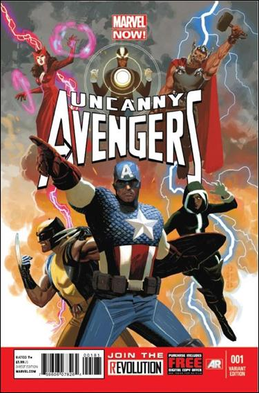Uncanny Avengers 1-B by Marvel