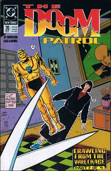Doom Patrol (1987) 20-A by Vertigo