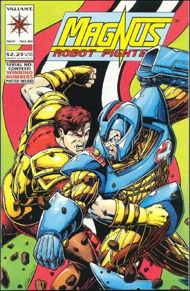 Magnus Robot Fighter (1991) 30-A by Valiant
