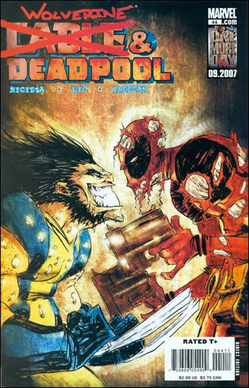 Cable & Deadpool 44-A by Marvel