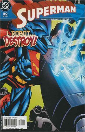 Superman (1987) 190-A