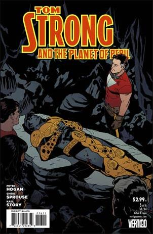 Tom Strong and the Planet of Peril 6-A by Vertigo