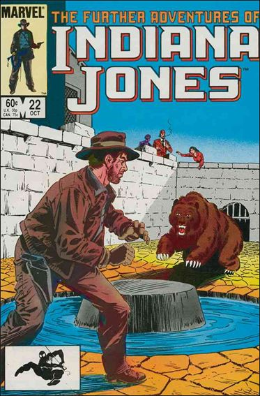 Further Adventures of Indiana Jones 22-A by Marvel