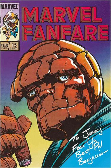 Marvel Fanfare (1982) 15-A by Marvel